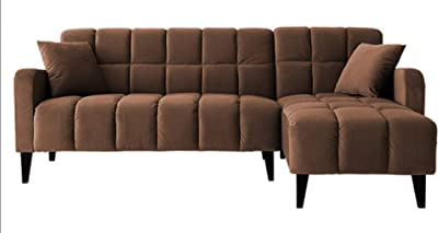 Windsor & Co sofá, Tejido, Lavanda, 235 x 95 x 80 cm: Amazon ...