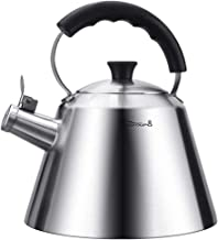 MSWL Kettle, 304 Stainless Steel Household 3 Liters Large Capacity, Automatic Sounding Kettle, Induction Cooker Gas Stove ...