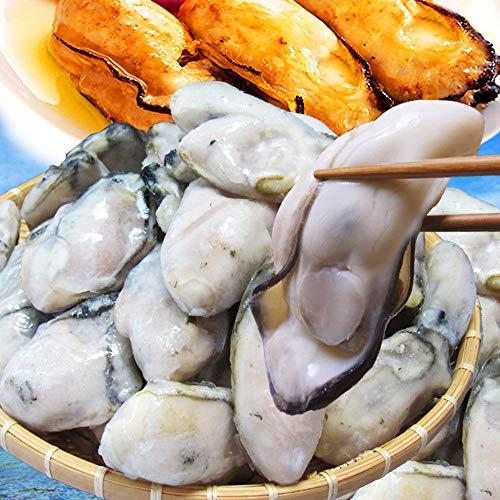 広島県産 冷凍牡蠣 2kg (1�s×2袋) L又は2Lサイズ 土手鍋に