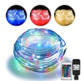 Omika 66ft Led Rope Lights Outdoor String Lights with 200 LEDs,16 Colors Changing...