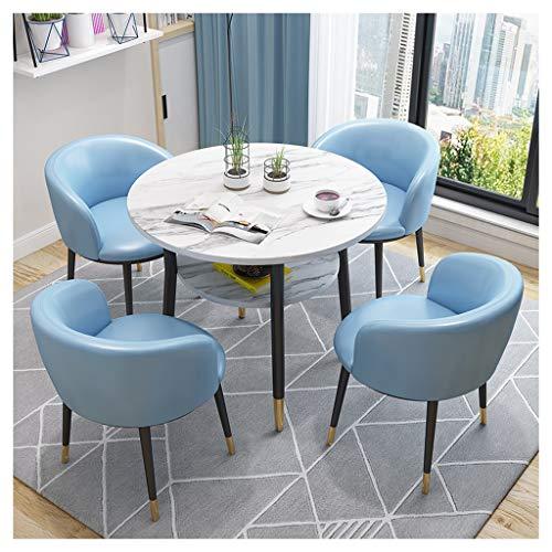 Balcón Mesa Y Silla Combinación Dormitorio Hotel Tienda de Té Ocio Simple Conjunto de Muebles de...