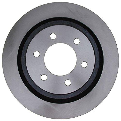 ACDelco Silver 18A2917A Rear Disc Brake Rotor
