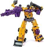 Optimus Prime Spielzeug Transformer Toys VENGE DE LA Figura DE ACCIÓN DE Transformador DE CONSTRUCTICON FALLADA DEVASTADOR Transformers Optimus Prime Cybertron (Color : A, Size : One Size)
