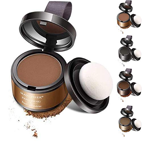 KFGJ Hairline Shadow Powder Magical Hair Powder Línea de Cabello Shadow Powder Maquillaje Cobertura del Cabello Corrector en Polvo Cobertura de Color instantáneo Amarillo Claro