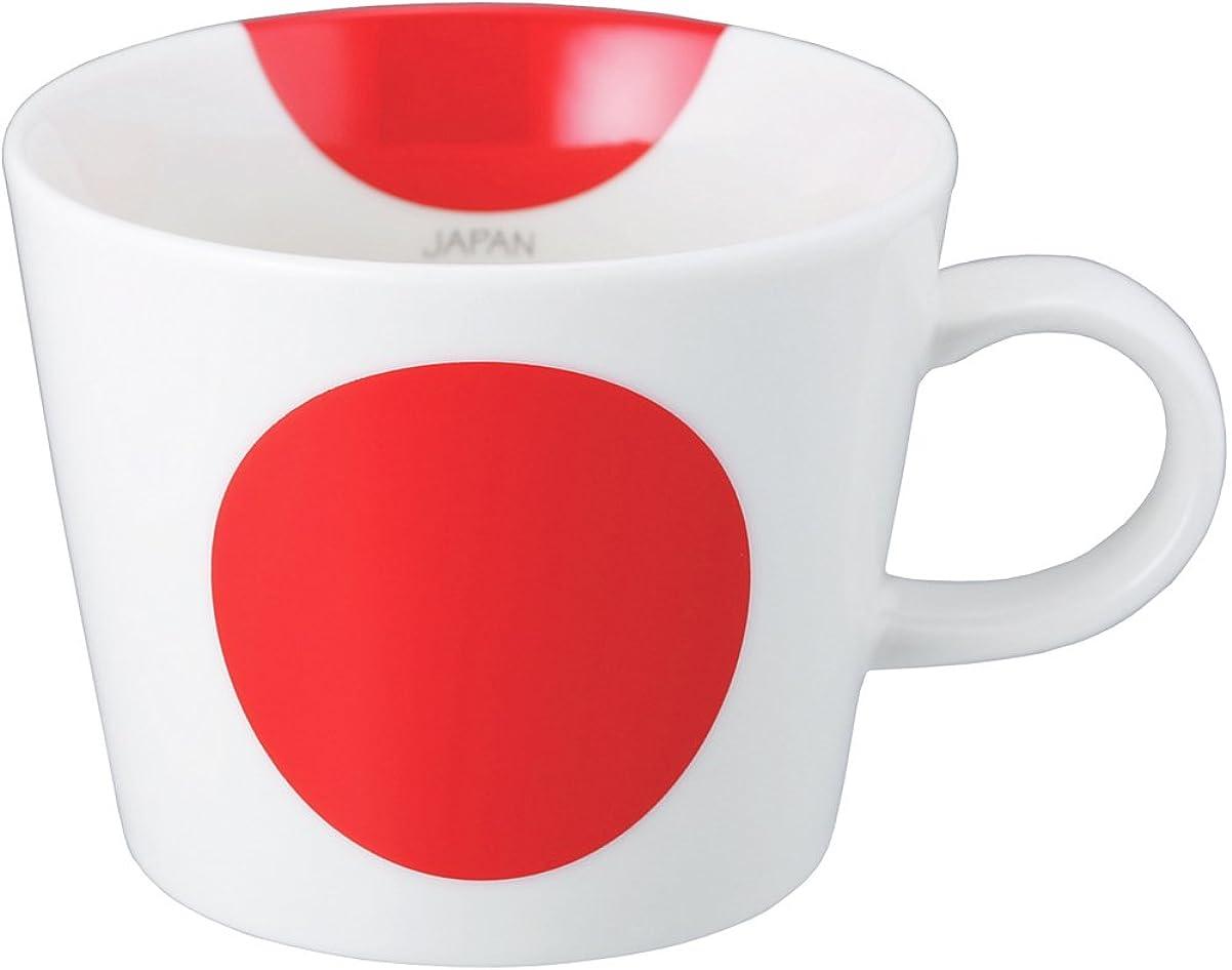 ユーモア牛ボトルネックSugar Land フラッグマグ JAPAN(日本) 10957-5