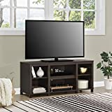Mainstay Parsons Cubby TV Stand Holds Up to 50' TV - Black Oak (Espresso (TV Stand ONLY))