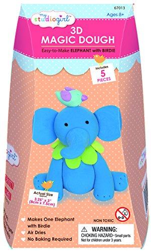 Mon studio Girl - 3D Magic Doug - Elephant Avec Birdie