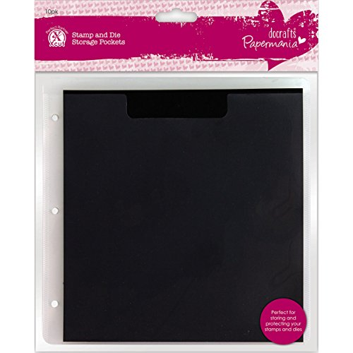 Papermania Stamp & Die Storage Pockets 10/Pkg