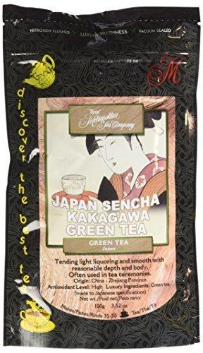 Metropolitan Tea Discovery Loose Tea Pack, Japan Sencha Green, 100gm by Metropolitan Tea