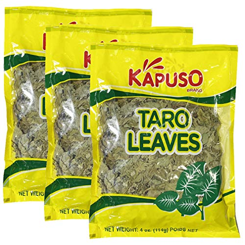 Kapuso Taro Leaves (3 Pack, Total of 12oz)