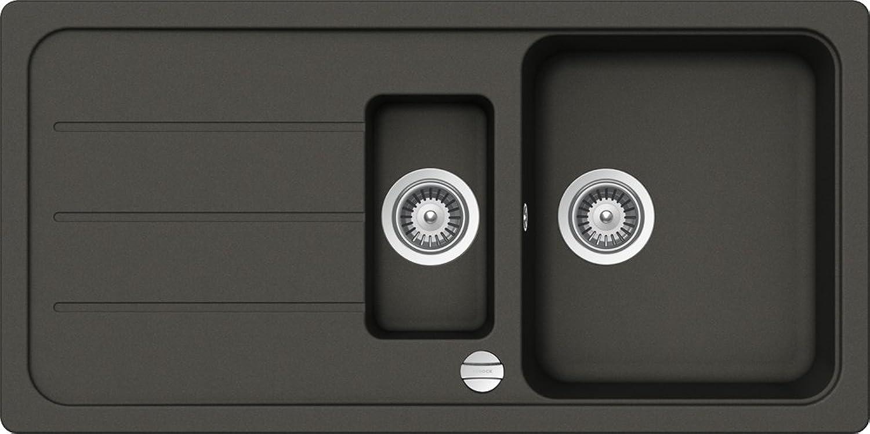 Schock FOMD150AGAS Formhaus D150 Kitchen Sink, Asphalt