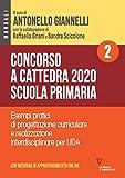 Concorso a cattedra 2020. Scuola primaria. Con espansione online. Esempi pratici di progettazione curriculare e realizzazione interdisciplinare per UDA (Vol. 2)