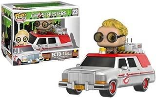 Ghostbusters 2016 Ecto-1 Vehicle with Jillian Holtzmann Pop! Vinyl Figure