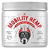 Helps with Joint Discomfort - Help your pet get prompt support for chronic hip and joint pain with our natural canine hip and joint supplement. Full Nutrition in Every Bite - In addition to glucosamine and chondroitin, these supplements are further e...