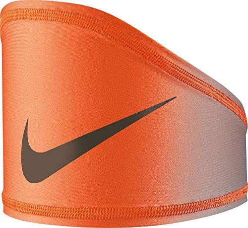 Nike Pro Dri-FIT Vapor Fade Skull Wrap (Grey/Orange, One Size)