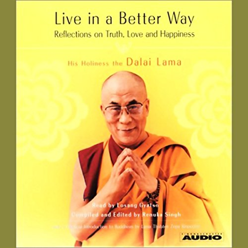 Live in a Better Way audiobook cover art