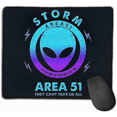 Storm Area 51 Sie können Uns Nicht alle rechteckigen rutschfesten Gummi-Mauspad-Gaming-Mauspads nehmen