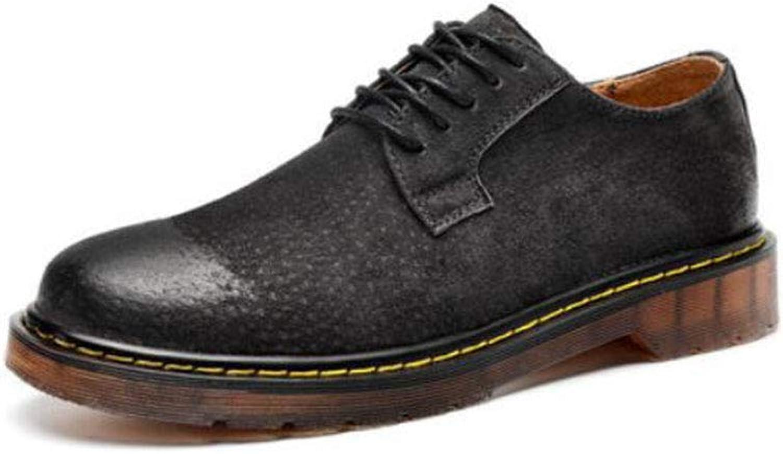 FH Herren Martin Schuhe Freizeitschuhe Werkzeug Schuhe (Farbe   Schwarz, Größe   EU40 UK7 CN41)