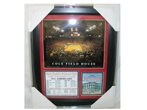 Maryland Terps NCAA Framed 8x10 Photograph Team Logo