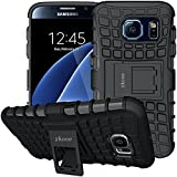 ykooe Coque Samsung Galaxy S6, [Série TPU] Samsung S6 Hybride à Double Couche...