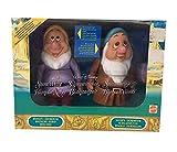 Disney Blancanieves y los siete enanos Eolo y Pisolo muñecas Vintage Mattel 1992...
