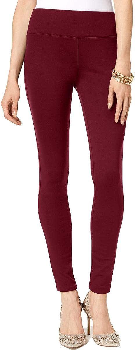 INC Womens Ponte Skinny Casual Pants Purple 2