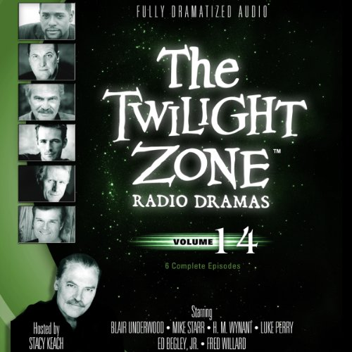 The Twilight Zone Radio Dramas, Volume 14                   By:                                                                                                                                 Rod Serling,                                                                                        Martin Goldsmith,                                                                                        Richard Matheson,                   and others                          Narrated by:                                                                                                                                 full cast                      Length: 3 hrs and 43 mins     Not rated yet     Overall 0.0