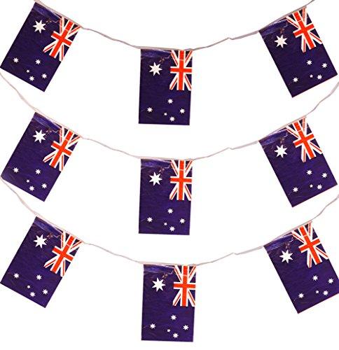 Banderines de Australia. Decoración para fiestas