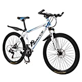 26 Inch Bike High Carbon Steel Mountain Bikes 21 Speed Bicycle Full Suspension