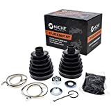 NICHE Front Rear CV Axle Boot Kit For Polaris 3235776 3236012 RZR XP 1000 RS1 RZR 4 Turbo