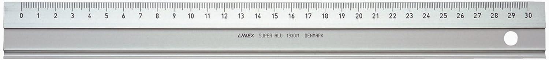 LINEX 100413071 Lineal  Super Ruler  50 cm   Aluminium   20er Pack  Maß–einteilung in mm   mit Rutschbremse   Zeichenkante und Schneidekante B00ZUVWQ74   | Abrechnungspreis