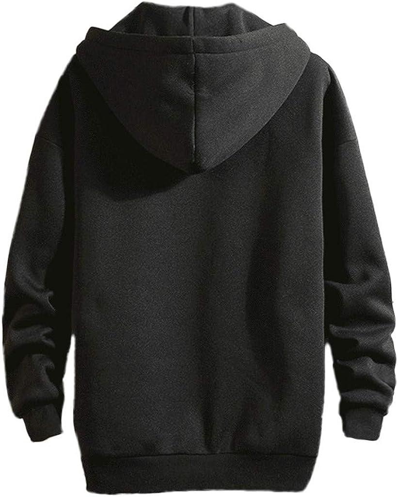 TOPUNDER Autumn Winter Panda Waving Printing Hoodie Long Sleeves Sweatshirt Topsmen