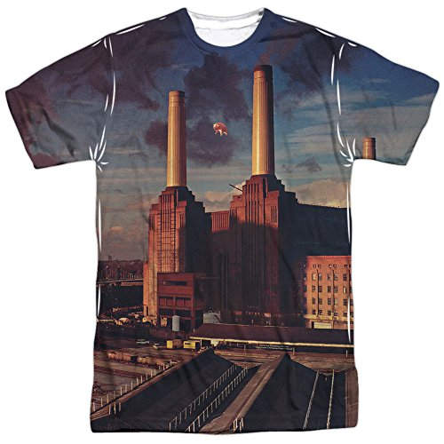 Pink Floyd Animals - Camisa de sublimación para hombre adulto Blanco blanco L