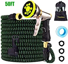 YOJULY Garden Hose-50ft Expandable Hose, Leakproof Lightweight Garden Water Hose-No Kink Tangle-Free Pocket Water Hose, High Pressure Water Spray Nozzle(50FT)