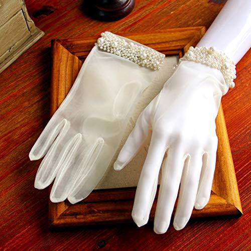 BESTOYARDウェディンググローブショートブライダル手袋花嫁グローブ結婚式披露宴二次会花嫁ファション小物