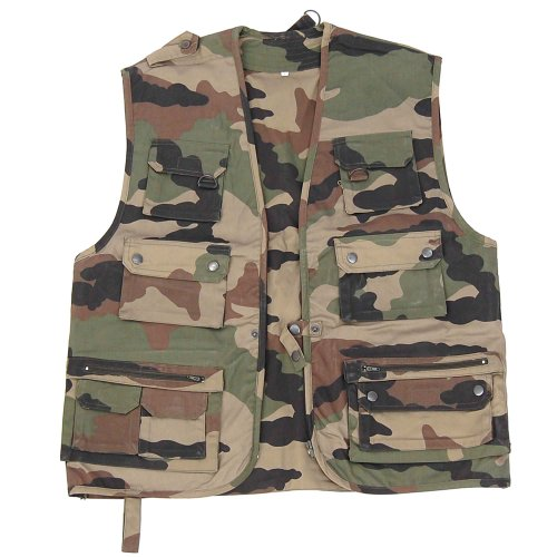 Gilet Reporter CCE,3XL,Beige