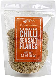 Chef's Choice All Natural Black Sea Salt Flakes 180 g