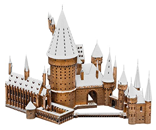 Fascinations Metal Earth ICONX Premium Series Harry Potter Hogwarts Castle in Snow...