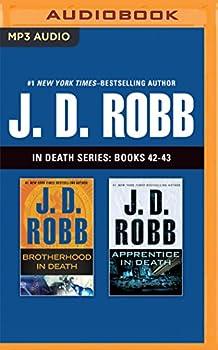 MP3 CD J. D. Robb In Death Series: Books 42-43: Brotherhood in Death, Apprentice in Death Book