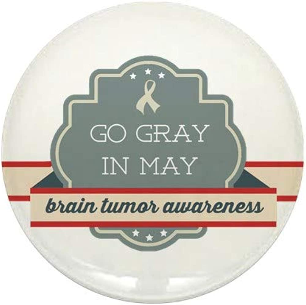 CafePress Go Gray In Max 60% OFF Translated May Round Mini Button 1
