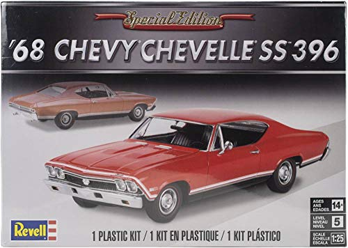 Plastic Model Kit-'68 Chevelle Ss 396 1:25