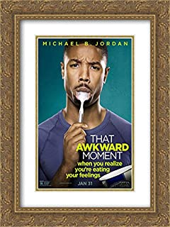 That Awkward Moment 18x24 Double Matted Gold Ornate Framed Movie Poster Art Print