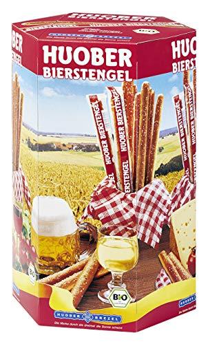 HUOBER Bierstengel, Bio, 750g Thekendisplay mit 50 einzeln verpackten DE-ÖKO-001, 1er Pack (1 x 750)
