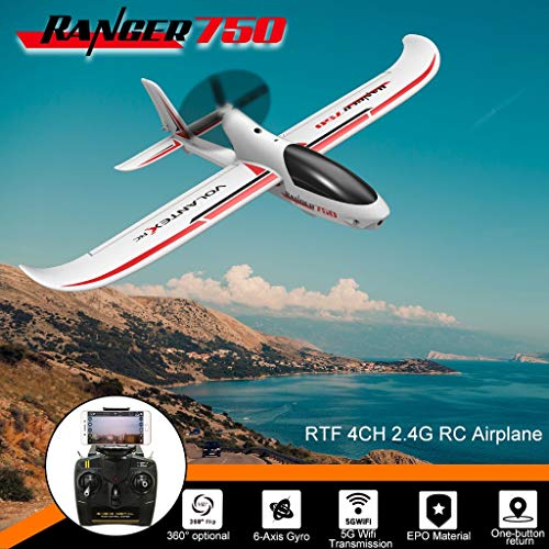 Lowest Price! Cyswi Toys,RC Plane Glider with One Key Return Function by GPS and 5G 720P WiFi Camera...