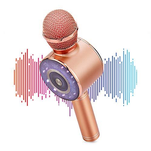 bocina karaoke infantil de la marca TECHVIDA