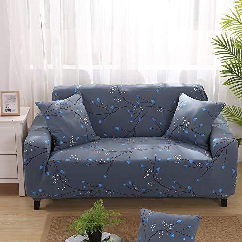 Funda de sofá con Estampado geométrico Colorido Fundas elásticas Funda de sofá antisuciedad Funda de sofá Funiture Toalla All Wrap A23 2 plazas