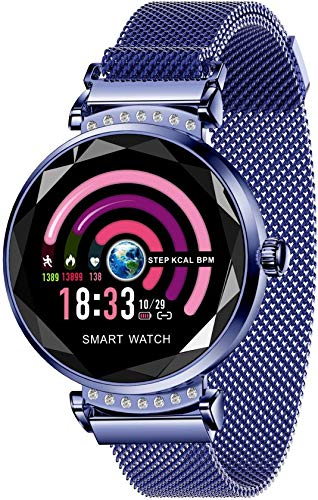 SmartWatch-Trends Vrouwen model - Smartwatch - Blauw
