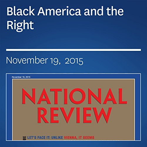 Black America and the Right audiobook cover art