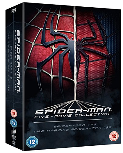 The Spider-Man Complete Five Film Collection [DVD]