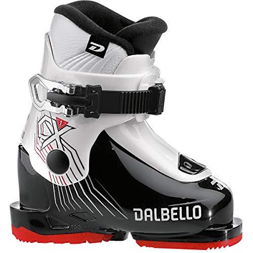 Dalbello Kinder CX 1.0 Skistiefel, Black-White, 16